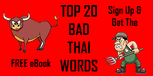 Top 20 Bad Thai Words