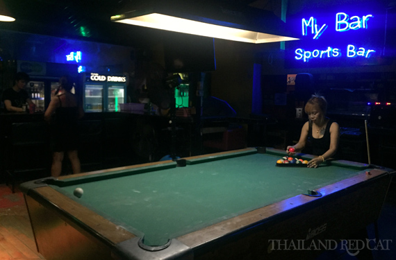 Girly Bar in Khon Kaen