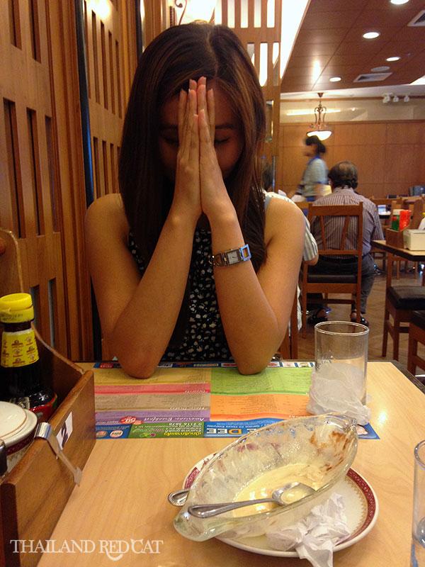 Angry Thai Girl