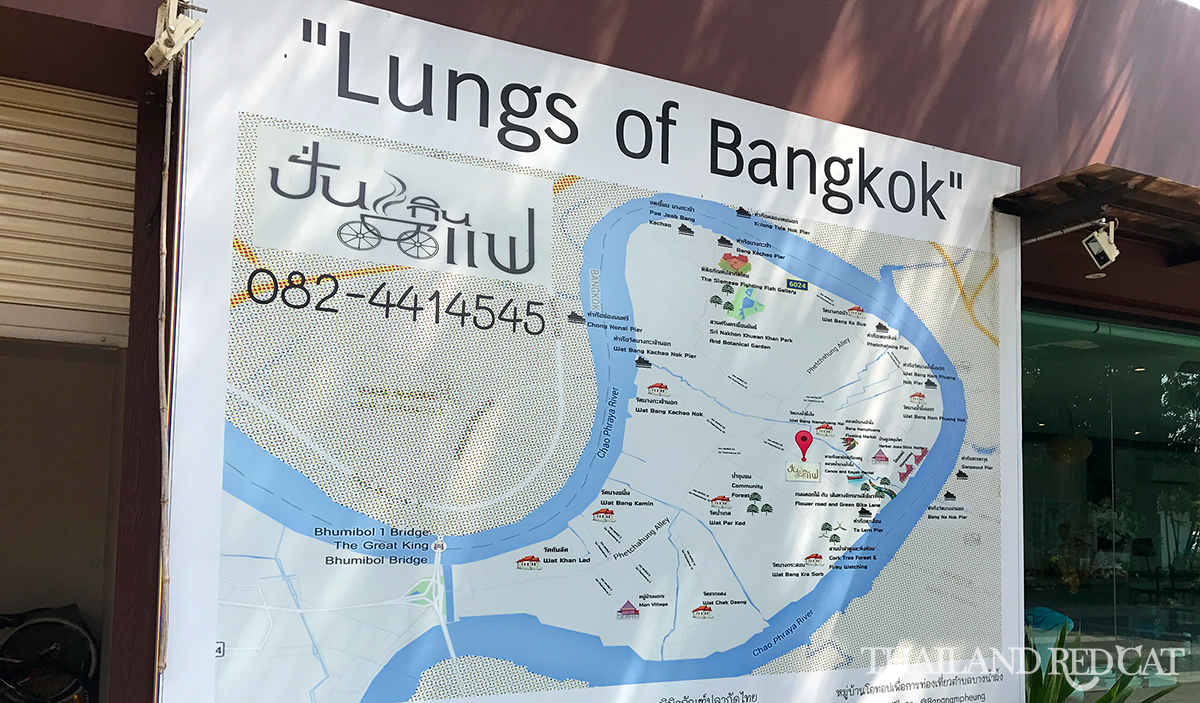 Bang Krachao Map