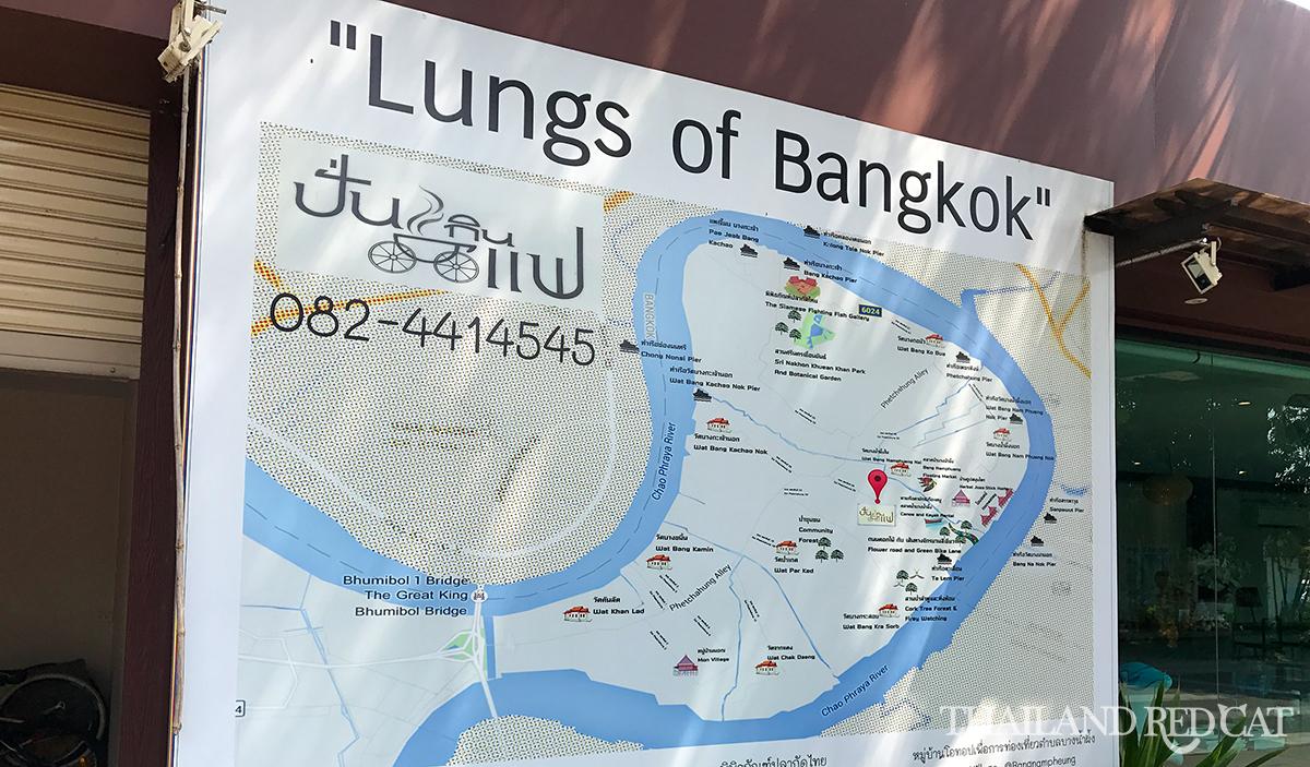Bang Krachao Map