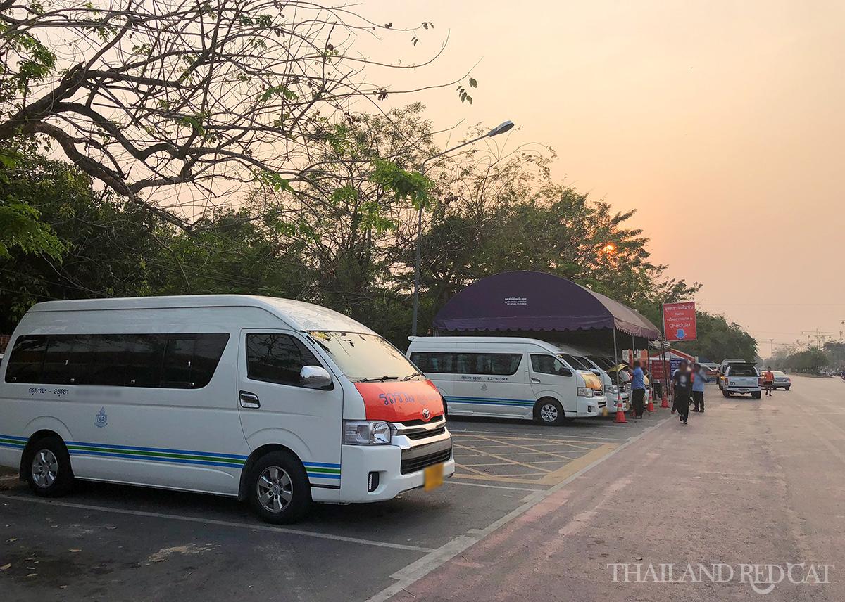 Bangkok to Ayutthaya Minivan