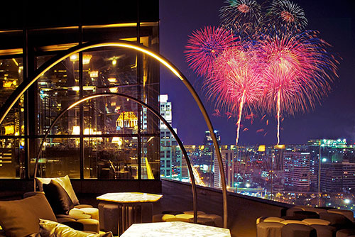 Best Hotel for New Year's Eve in Bangkok
