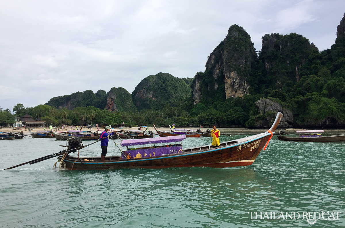 Boats in Railay