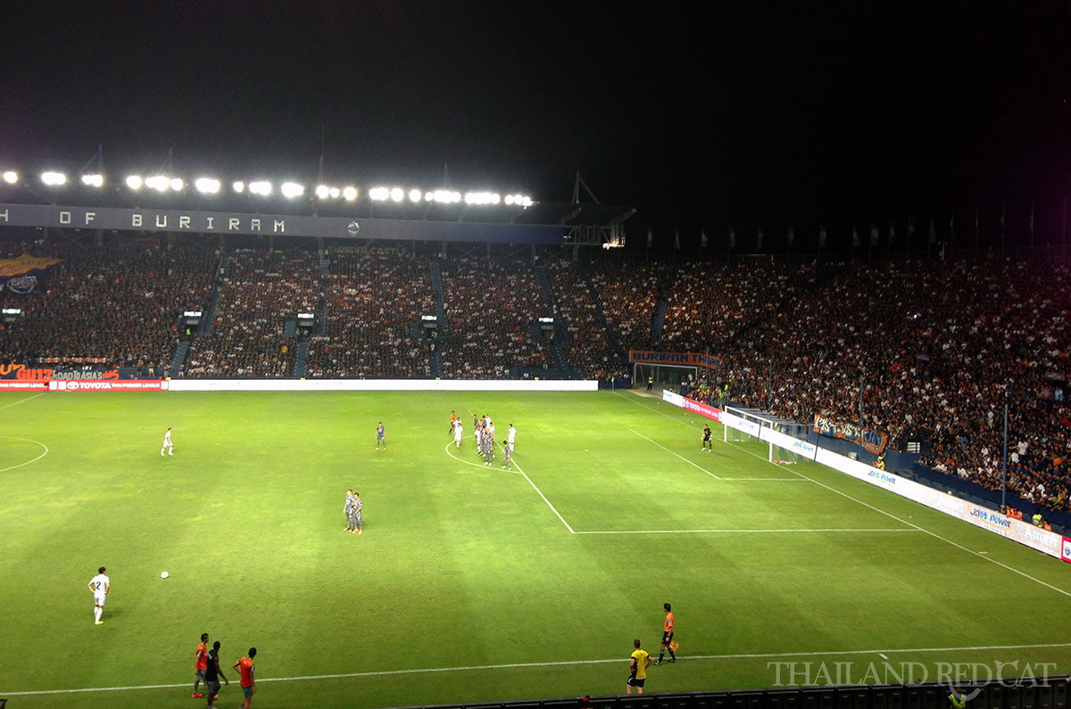 Buriram Football Match