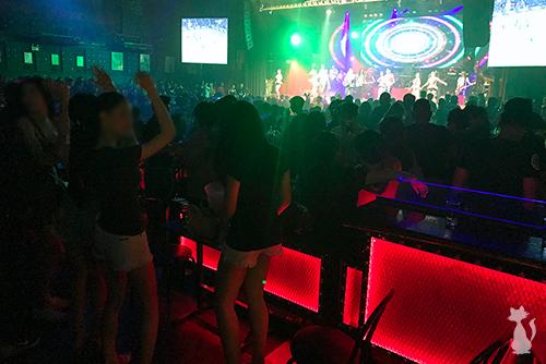 Chiang Mai Ladyboys in Night Club
