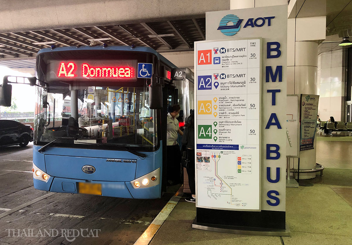 Don Mueang Airport Bus