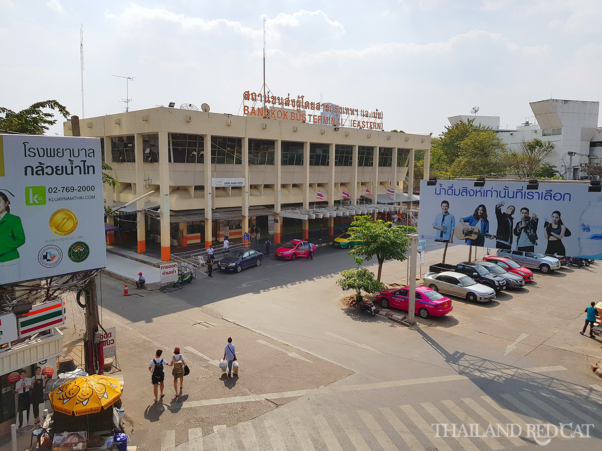 Ekkamai Bus Terminal Bangkok