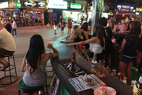 Girly Bar on Bangla Road