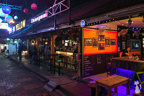 Girly Bars in Chiang Mai Old Town