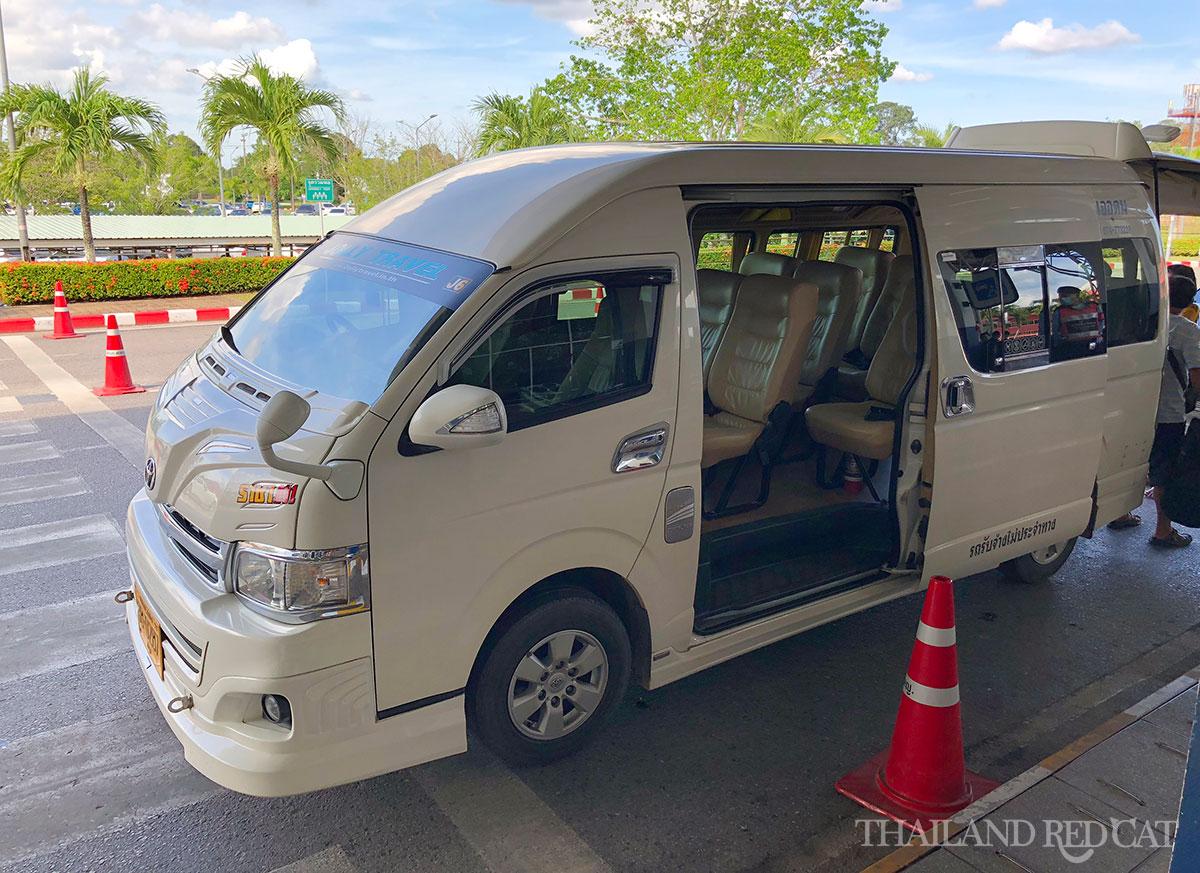 Hat Yai to Pakbara Pier Minivan
