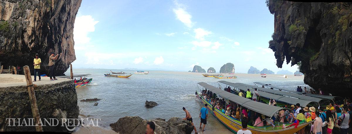 James Bond Island Trip Boats