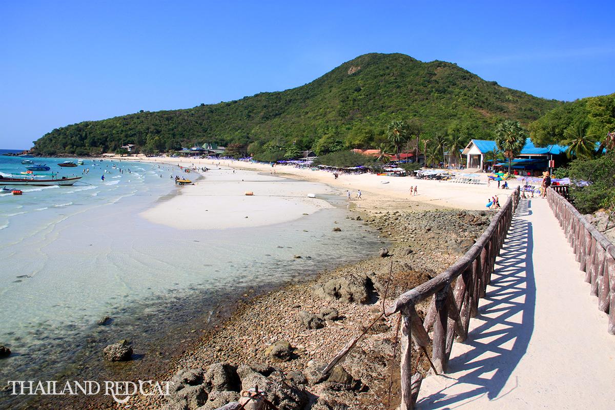Koh Larn Tien Beach