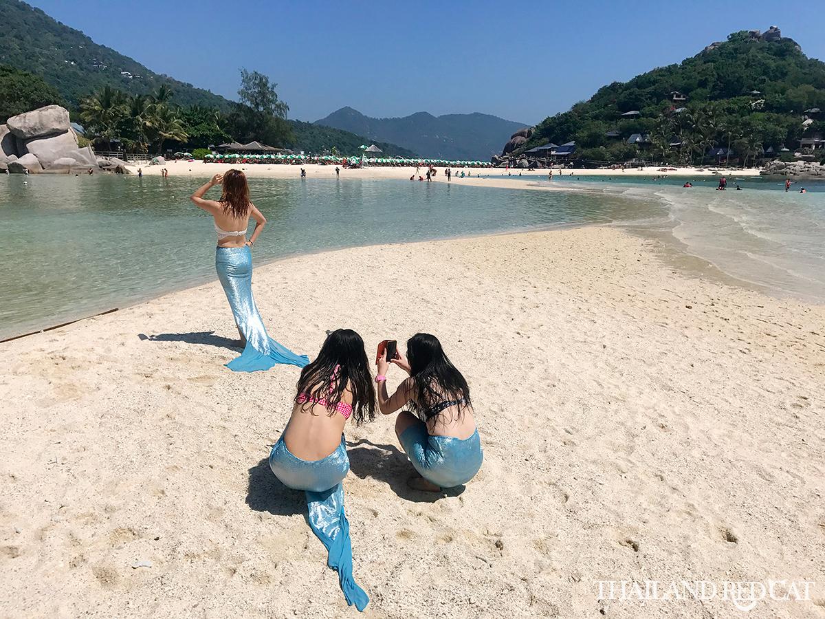 Koh Nang Yuan Girls