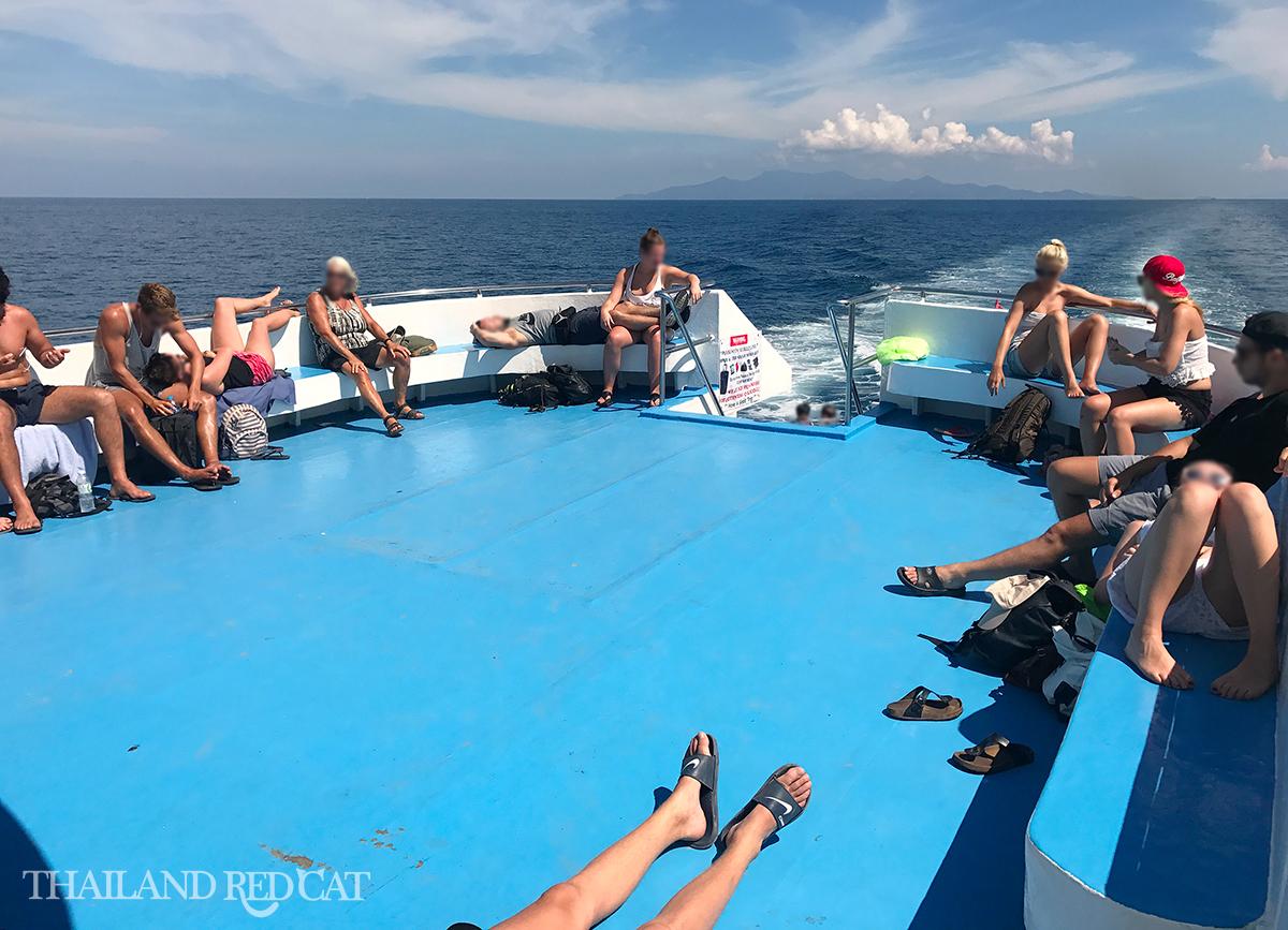 Koh Phangan to Koh Tao Ferry