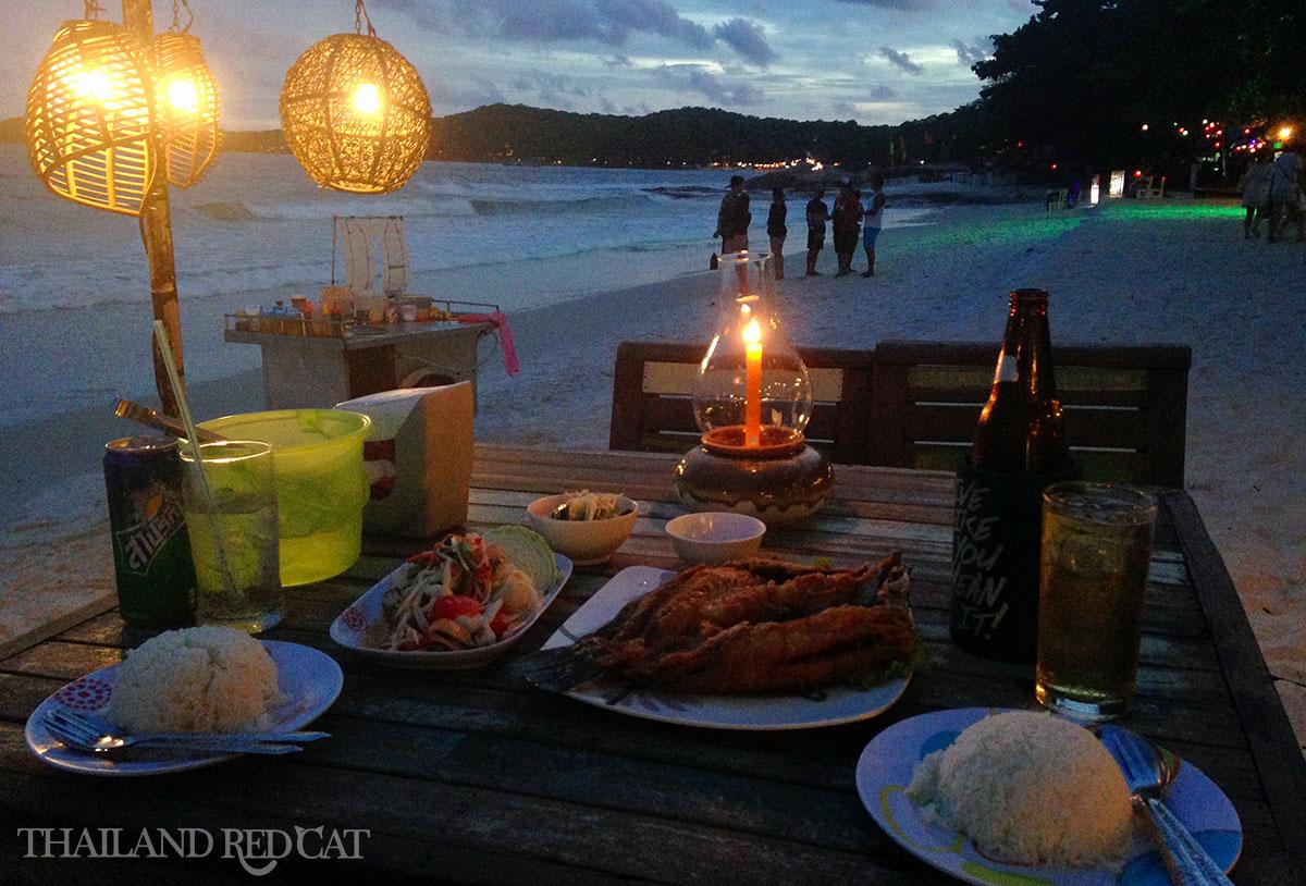 Koh Samet Seafood Dinner
