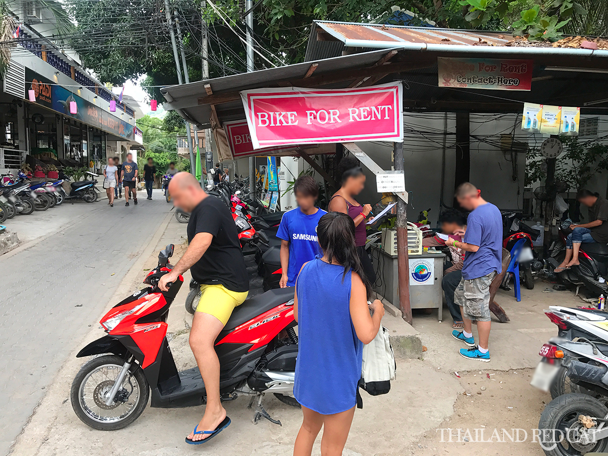 Koh Tao Motorbikes