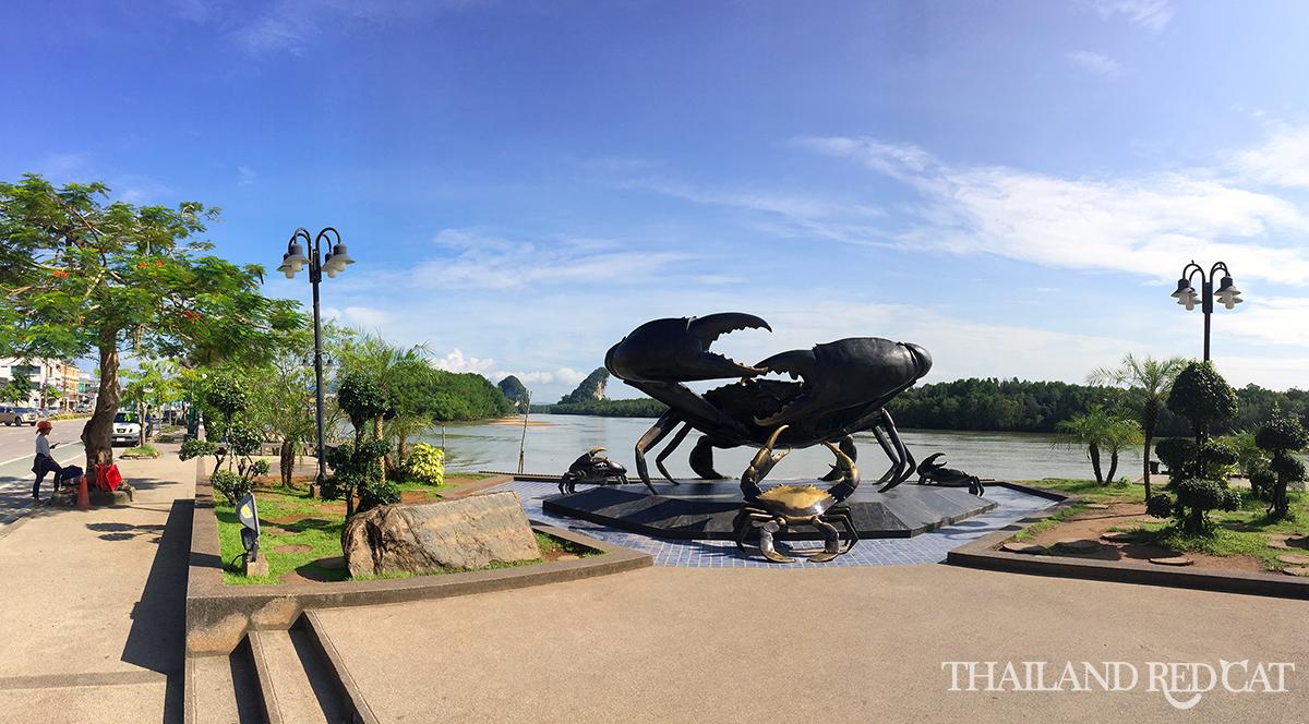 Krabi Town Crab Statue