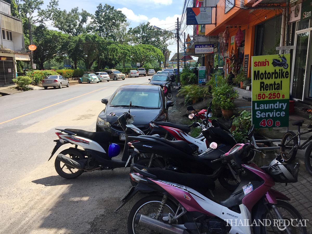 Krabi Town Motorbike Rental