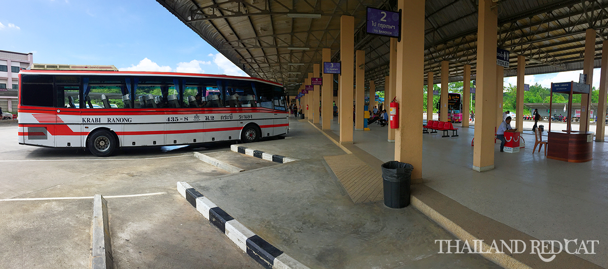 Krabi Town to Ao Nang Bus