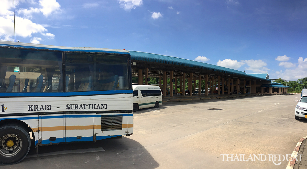 Krabi to Surat Thani Bus