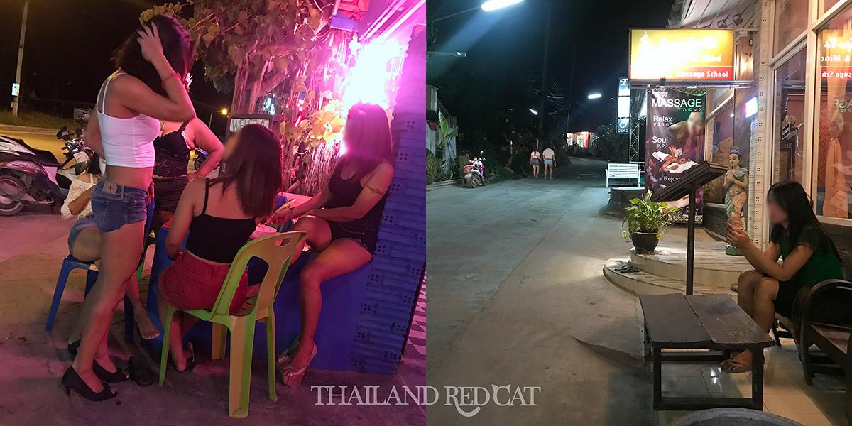 Ladyboys on Koh Phangan