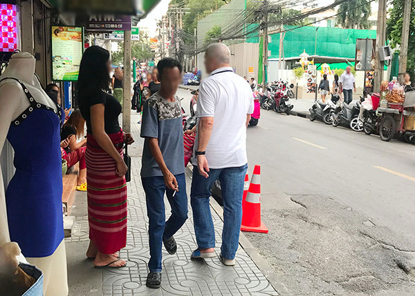 Massage Ladyboy in Bangkok