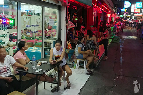Massage in Pattaya Soi 6