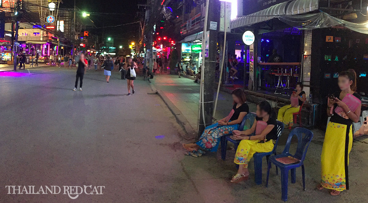Massage on Bangla Road