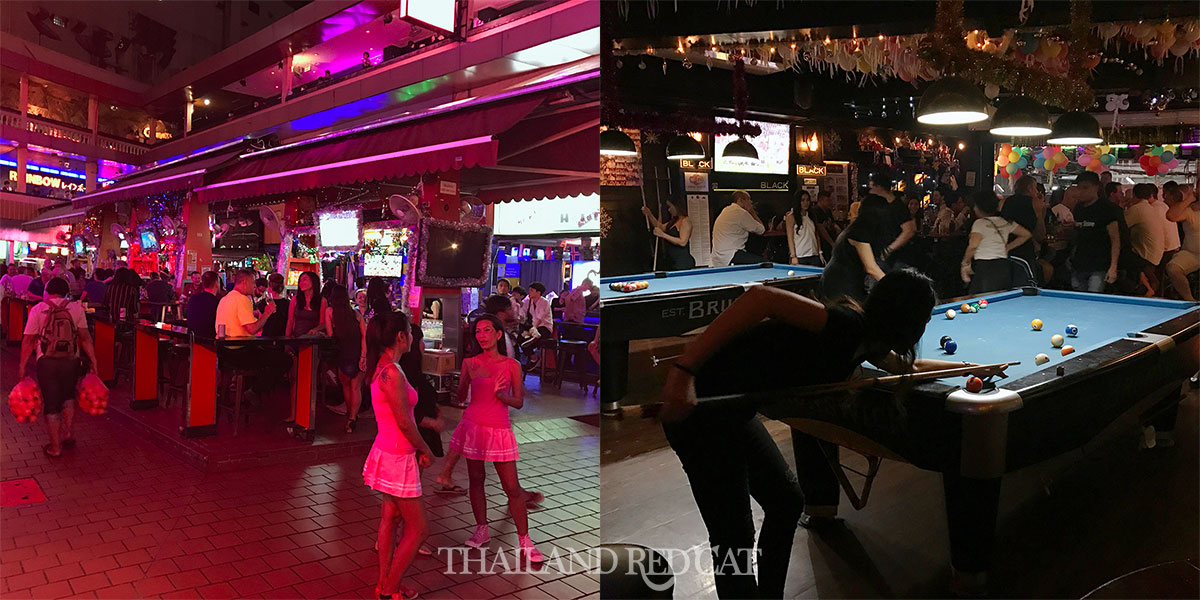 New Year's Eve in Sukhumvit Soi 4
