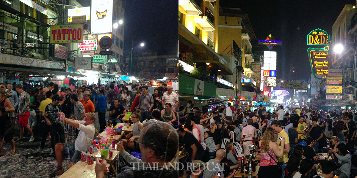 New Year's Eve on Khaosan Road