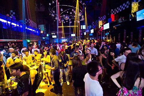 Night Club on Walking Street Pattaya