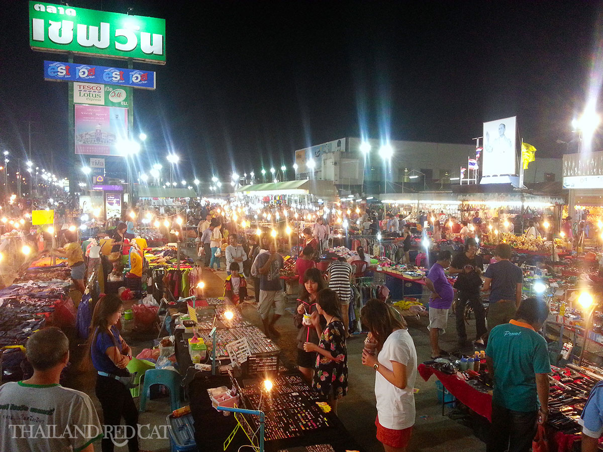 Night Market in Korat