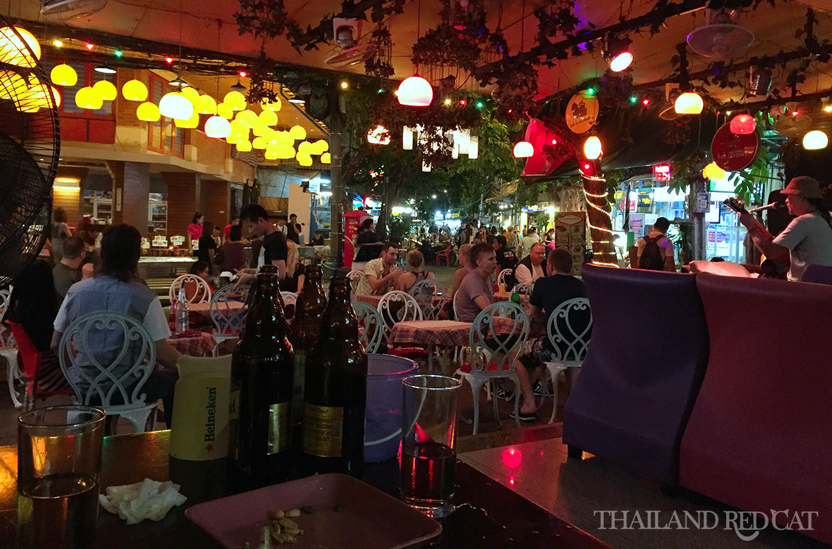 Partying in Khaosan