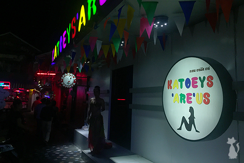 Pattaya Ladyboy Go Go Bar