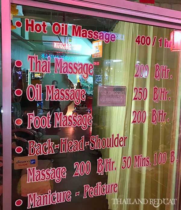 Pattaya Ladyboy Massage Prices