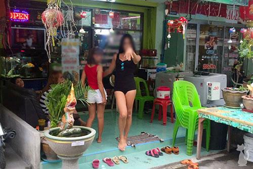 Pattaya Ladyboy Massage Salon