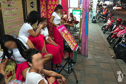Pattaya Massage Ladyboys