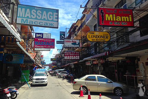 Pattaya Massage Street