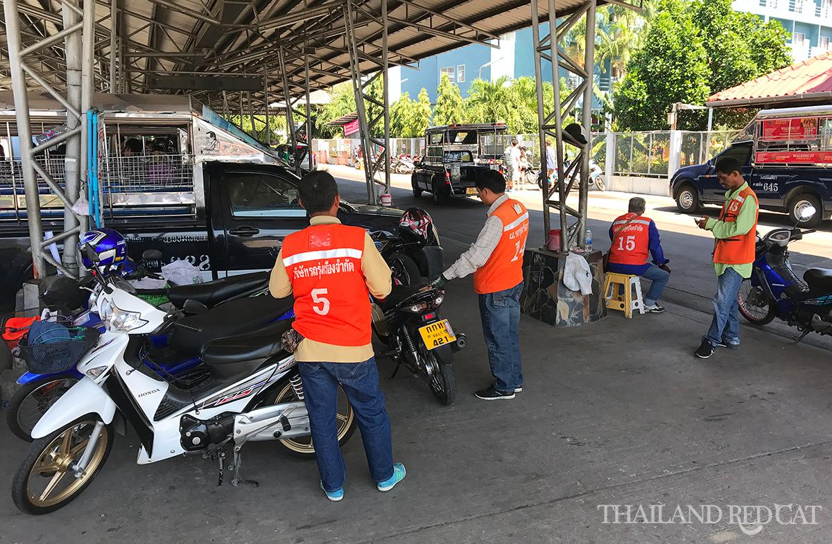 Pattaya Motorbike Taxis