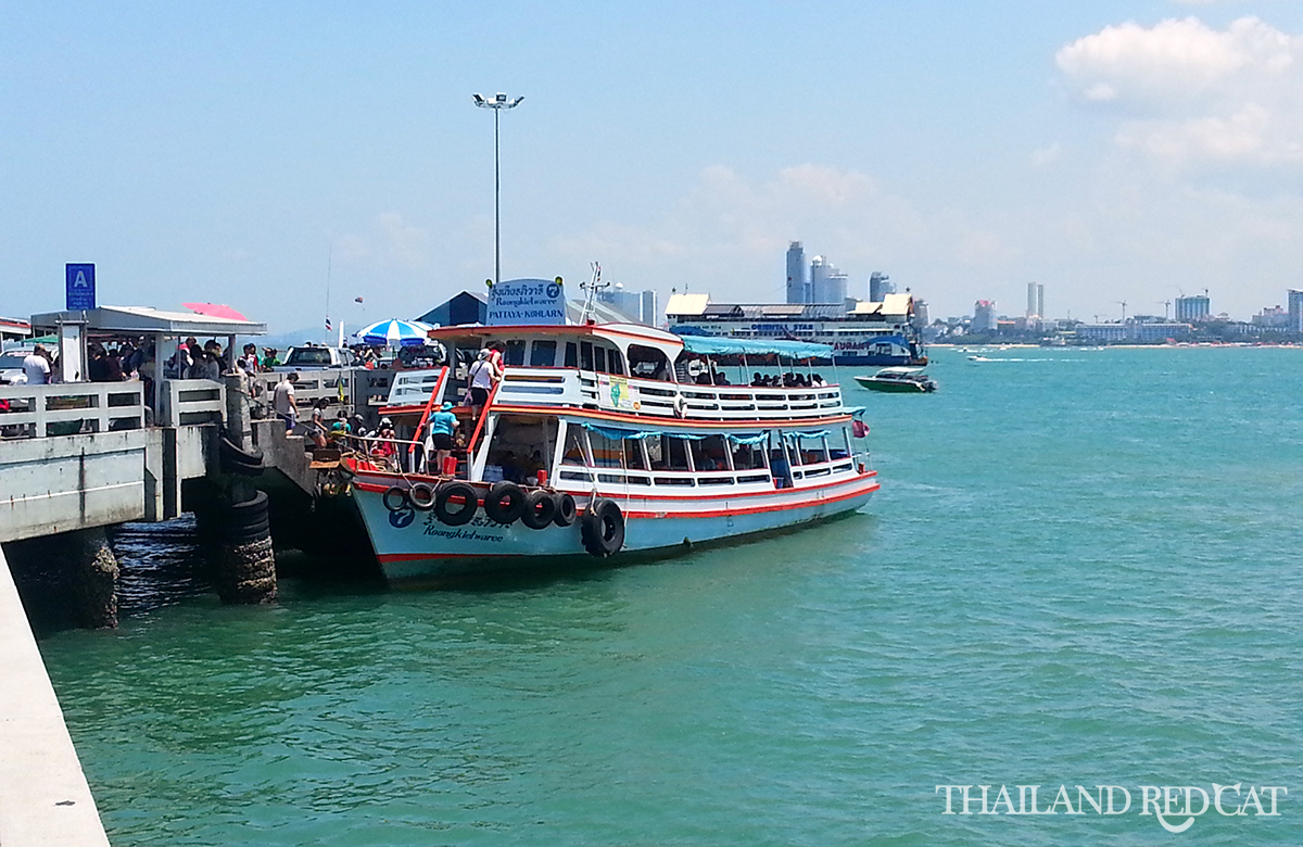 Pattaya to Koh Larn Boat