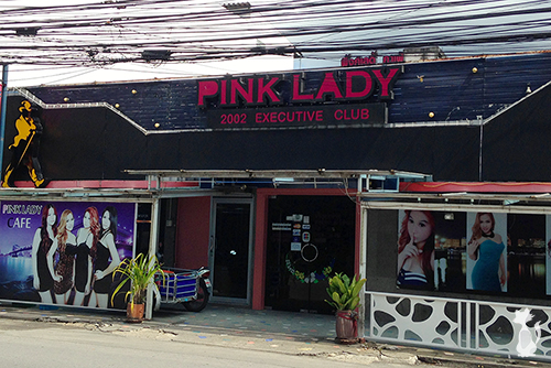 Coyote Bar in Phuket