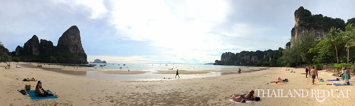 Railay Beach Panorama