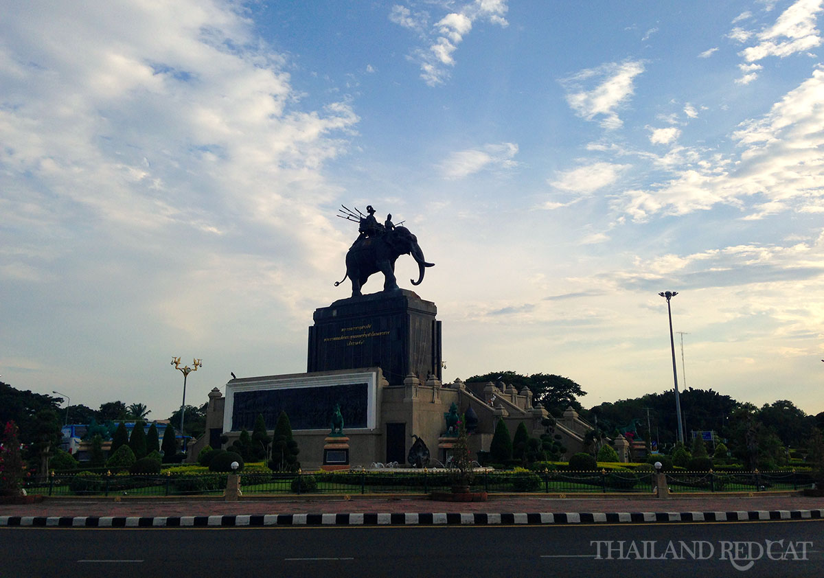 Rama 1 Monument in Buriram