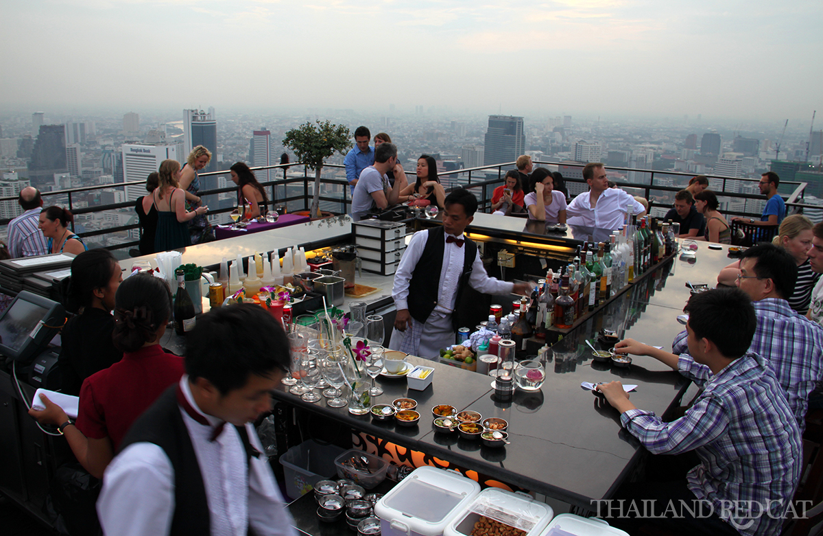 Rooftop Bar à Bangkok