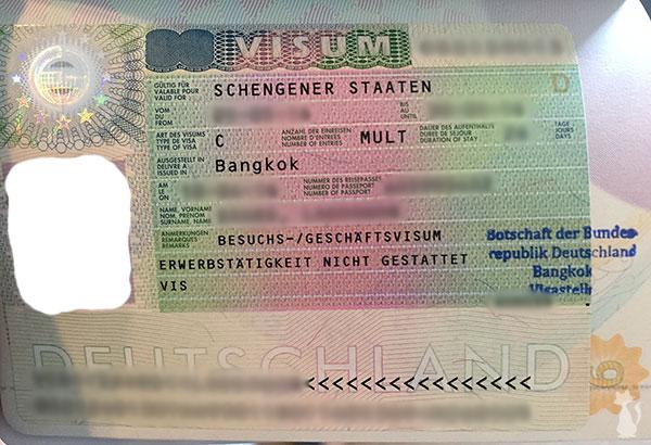 Schengen Visa For Thai Girlfriend