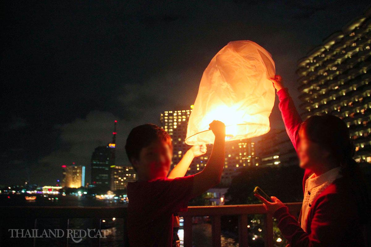 Sky Lantern Bangkok