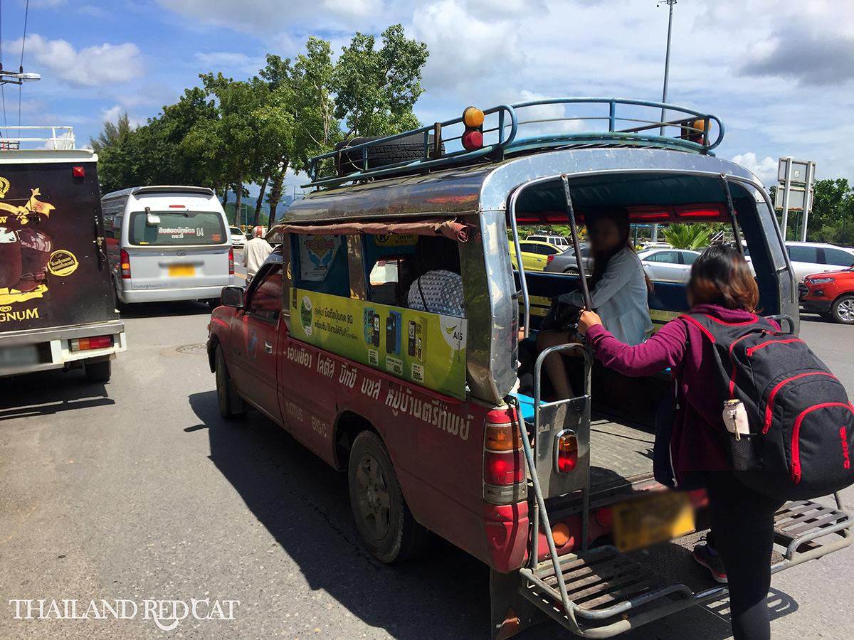 Songthaew in Krabi Town