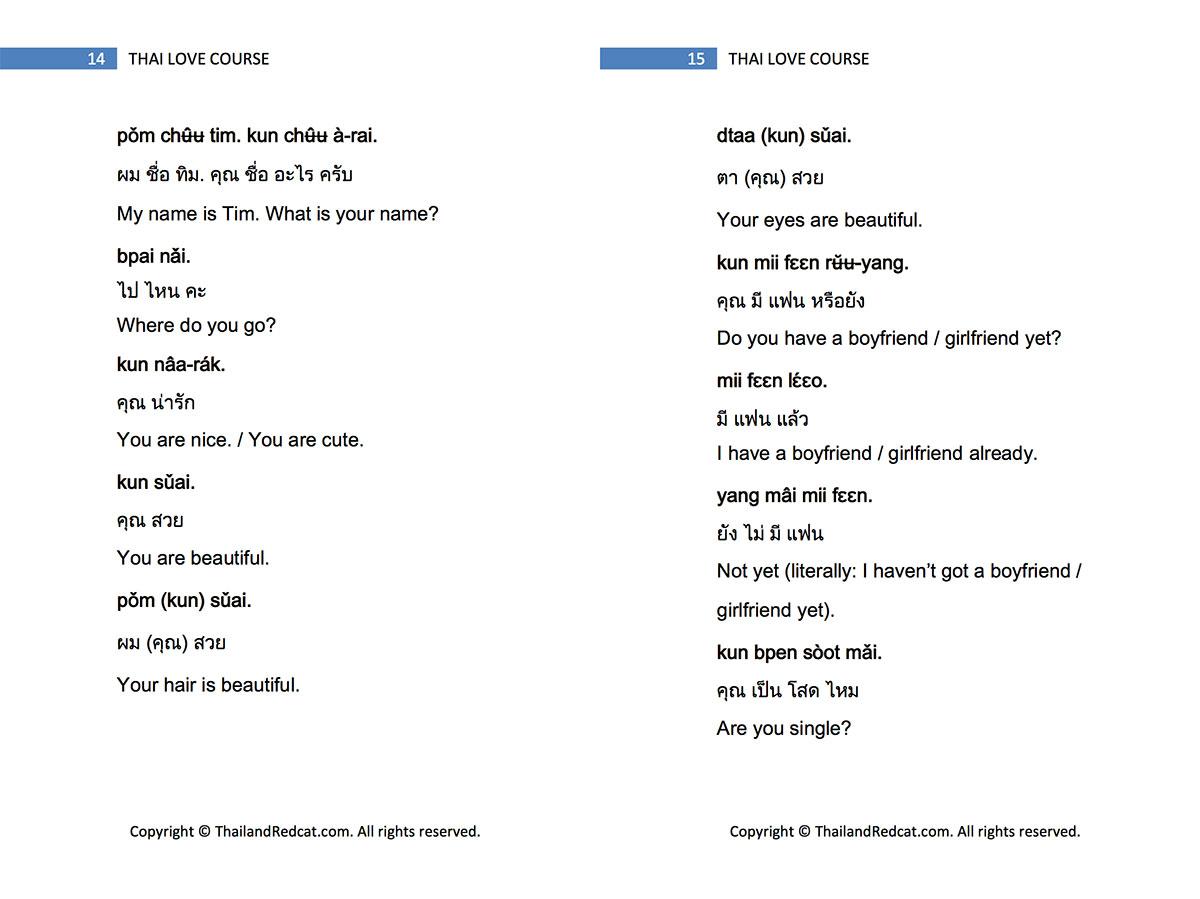 Thai Love Course Excerpt 2