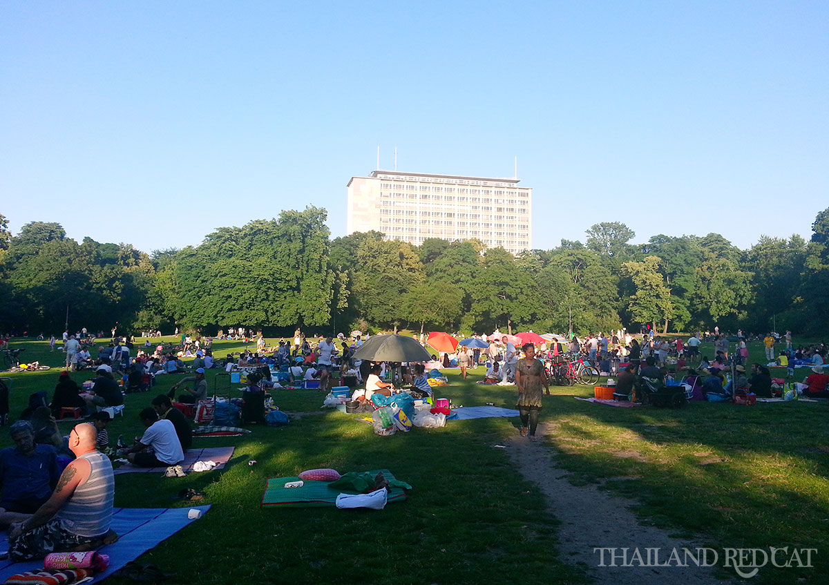 Thai Park in Berlin